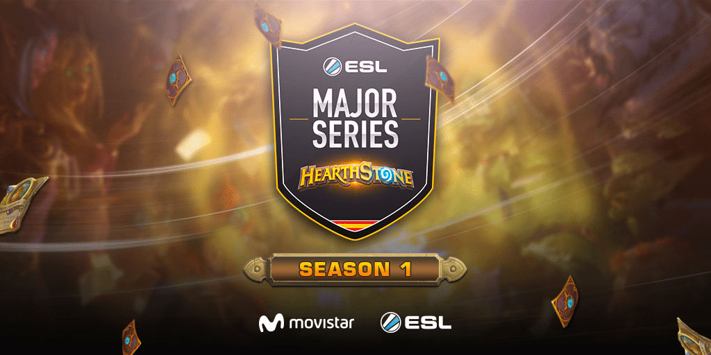 eSports3all - Vive junto a ESL y Movistar la gran final del ESL Major Series Hearthstone
