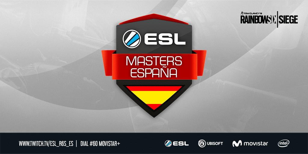 eSports4all-ESL Masters Rainbow Six desembarca en España -R6ESLmasters