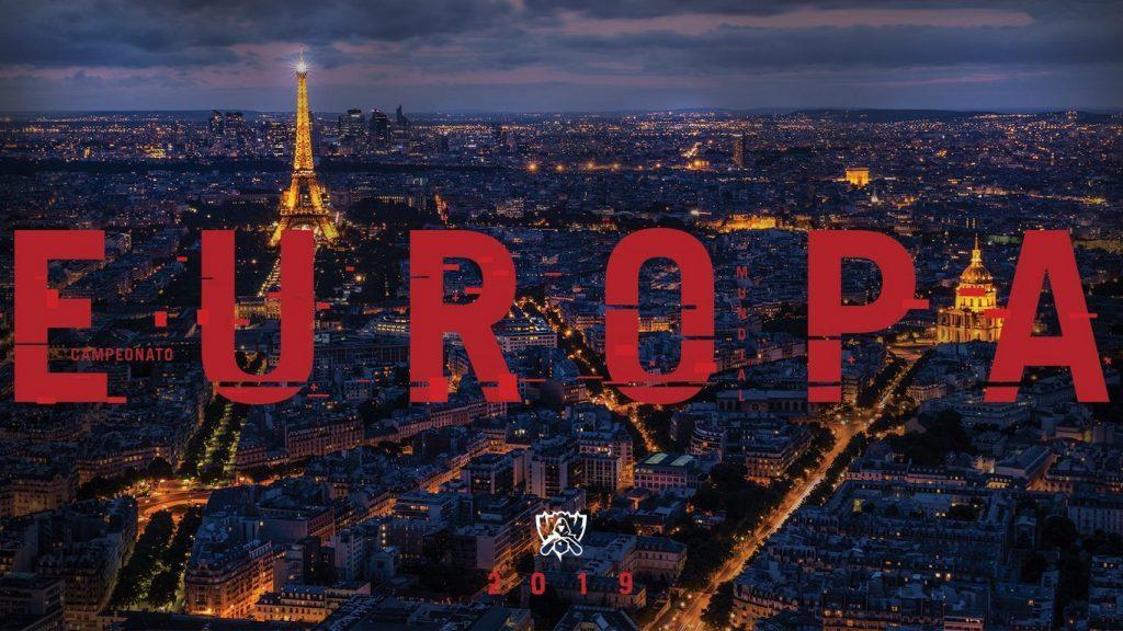 Worlds: ¡Europa 2019!