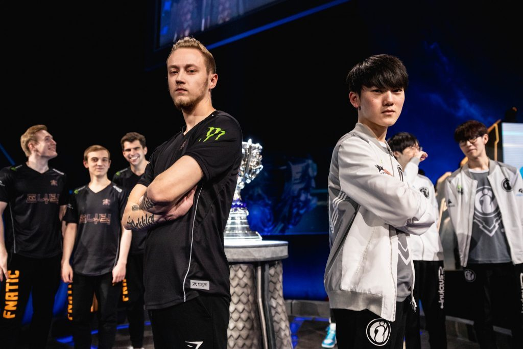 Final de los Worlds entre Fnatic e Invictus Gaming